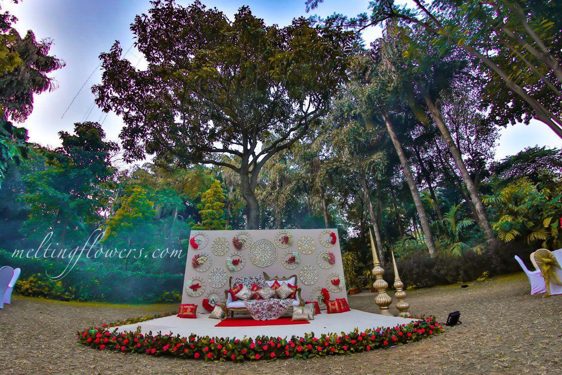 Wedding stage decoration ideas kerala  Wedding Stage Decoration At The Taj West End Hotel Bangalore