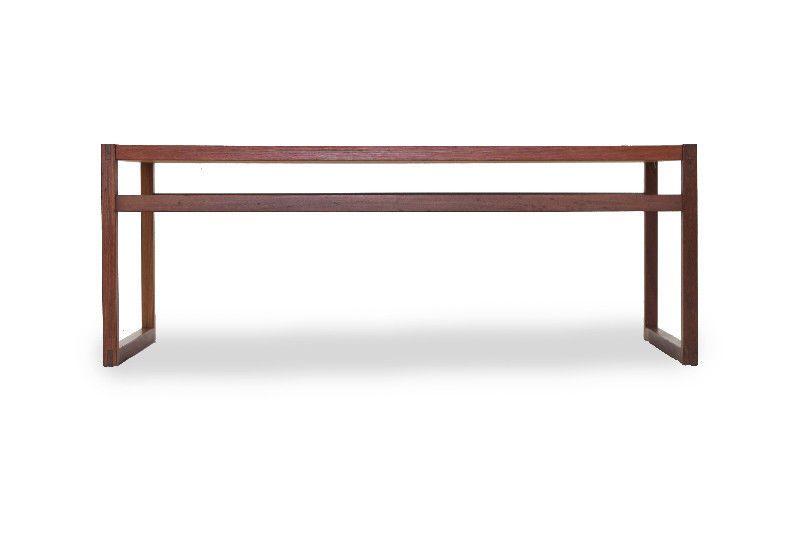 geometric contemporary teak coffee table http www furniture1950