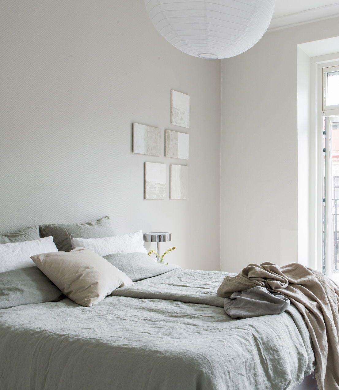 Beige Bedroom In Spring Tints