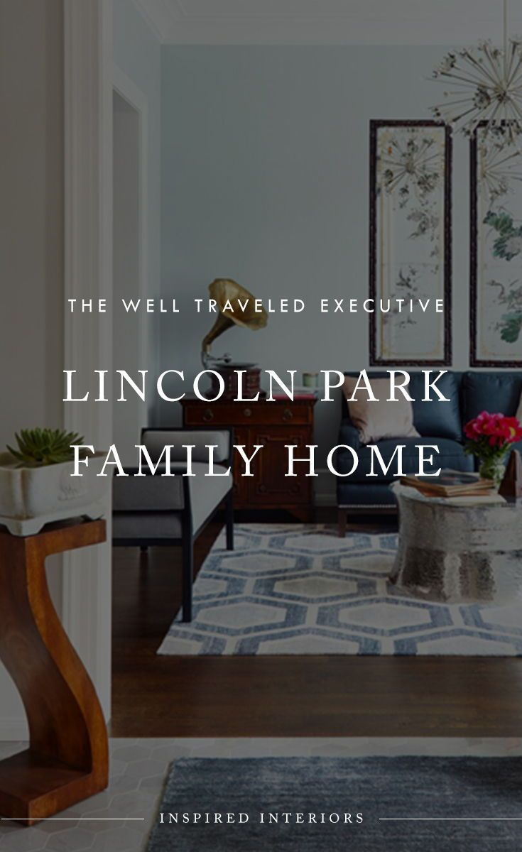 Project Highlight: Lincoln Park Family Home   See how we brought global design to life and incorporated unique travel elements in this Lincoln Park home on the Inspired Interiors' interior design portfolio #globaldesign #traveldesign #interiordesign