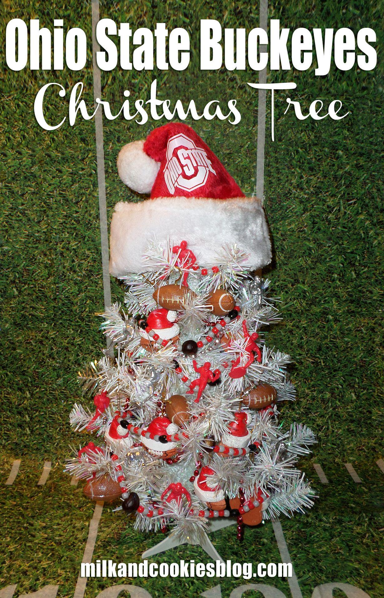 Ohio State Buckeyes Christmas Tree | Buckeye Items | Pinterest ...