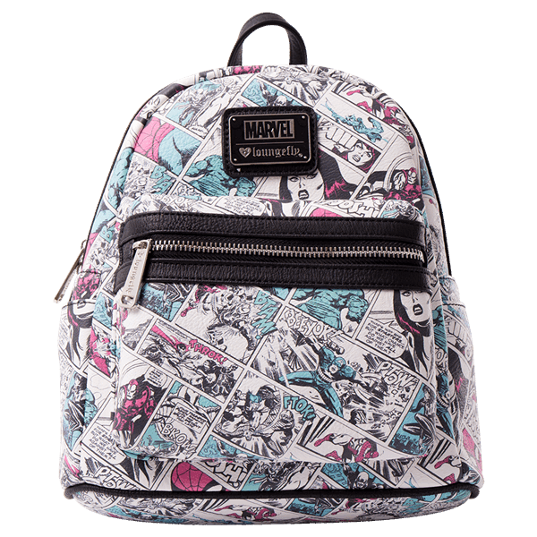 e94627d4a94 Marvel - Comic Loungefly Mini Backpack - ZiNG Pop Culture