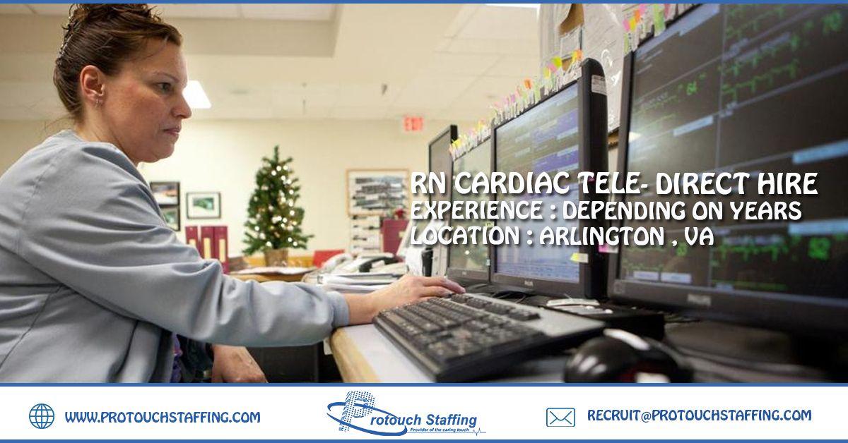 RN Cardiac Tele Direct Hire Emergency room, Career