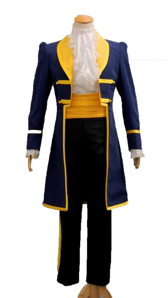 "FANCY DRESS COSTUME ~ MENS DISNEY BEAUTY AND THE BEAST ADULT /""BEAST/"" 38/"" 46/"""