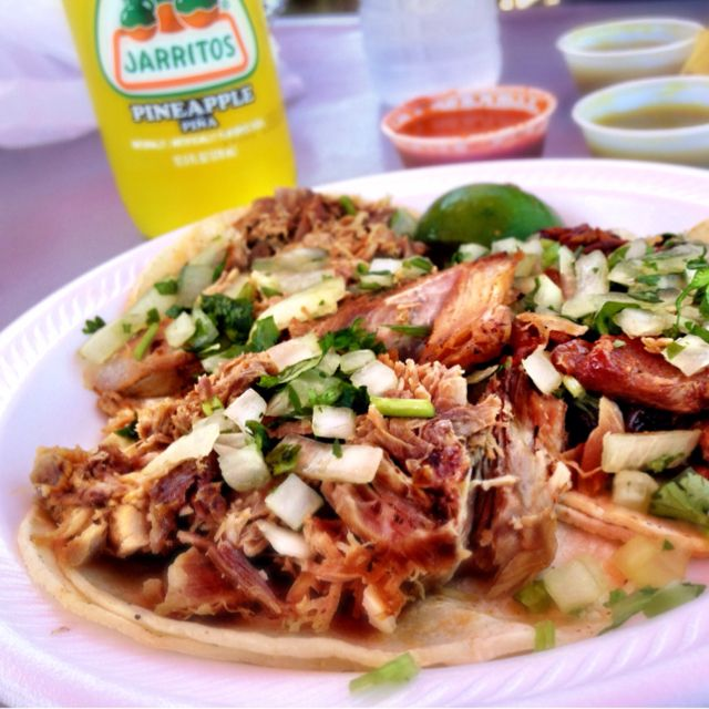 Amazing Street Tacos From Mr Tacos Off North Lewis Ave Just Past Admiral On The Left Tulsa Food Food Mexican Food Recipes