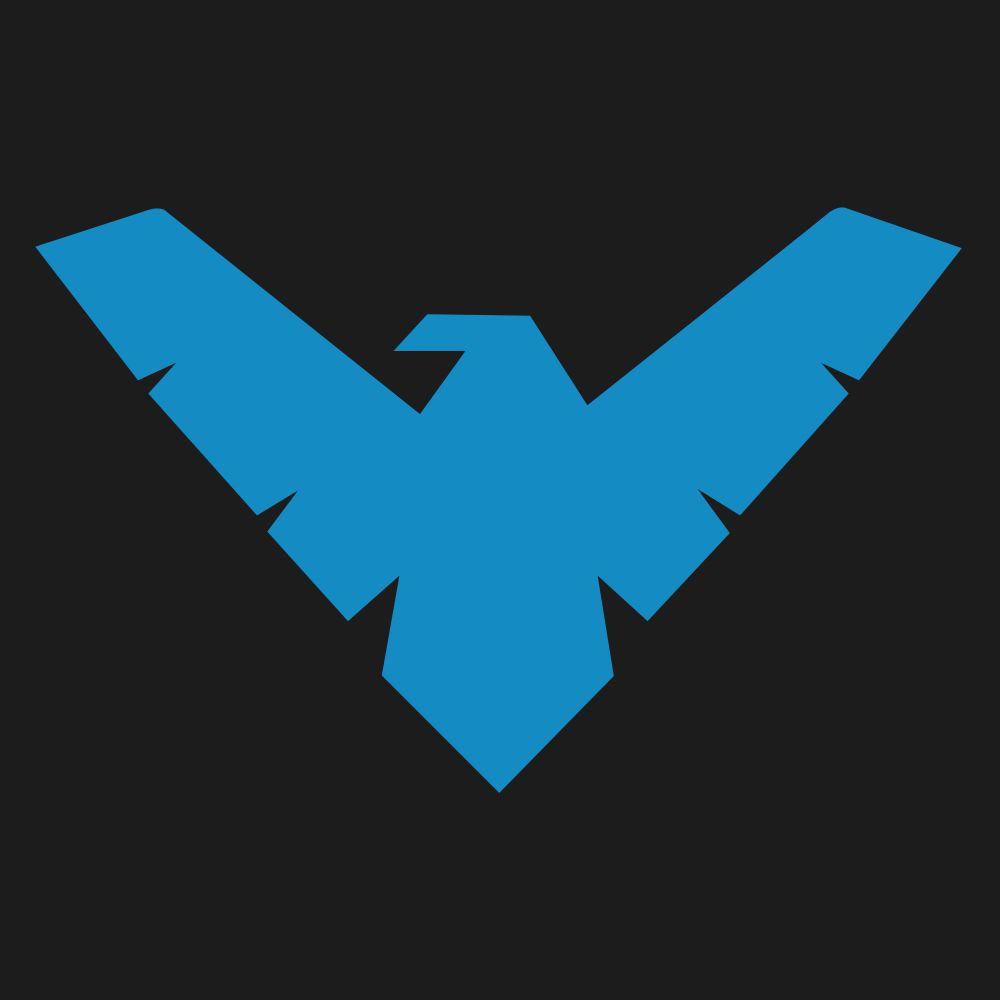 Nightwing Logo Minamalist Family Logo Hero Logo Nightwing