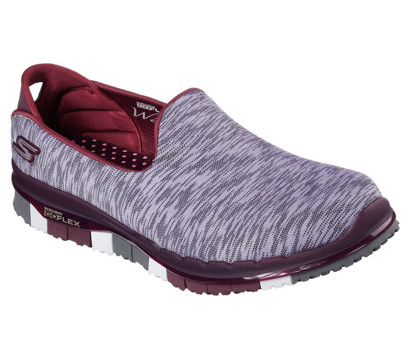 f314265f749d Skechers 14015 BURG Women s GO FLEX WALK - ABILITY Walking ...