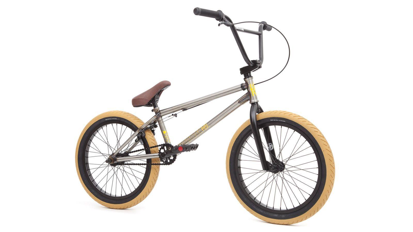2016 Fit Conway 1 Complete Bmx Bike Clear Raw Bmx bikes
