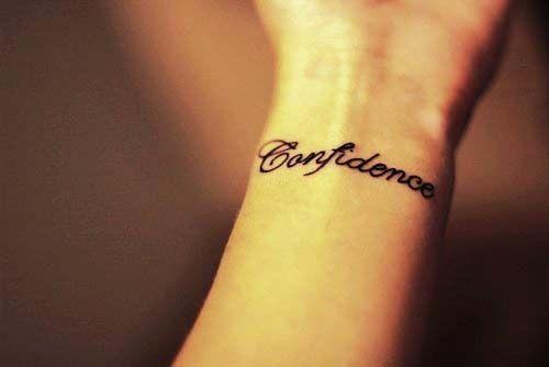 21++ Tatouage confiance en soi ideas