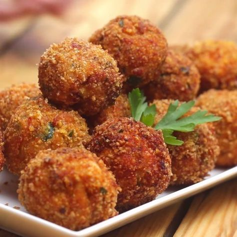 Photo of Chicken, Bacon Chipotle Balls Recipe by Tasty