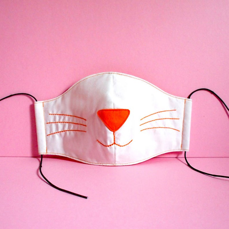 Cat Face Mask Cat Mouth Mask Cute Anti Dust Mask Reusable Pollution Mask White Kitty Cat Mask Neko Cosplay Kawaii Harajuku Fashion In 2020 Cat Face Mask Mouth Mask Mouth Mask Design