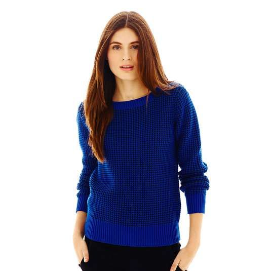 Love the JCPenney Joe FreshTM Two-Tone Sweater on Wantering.