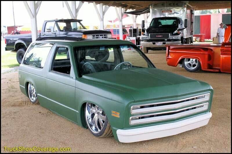 2 door Blazer C10 | CHEVORLET | Chevy s10, Mini trucks, Chevy trucks