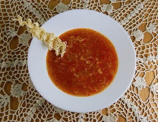 Pekingsuppe vom China Restaurant