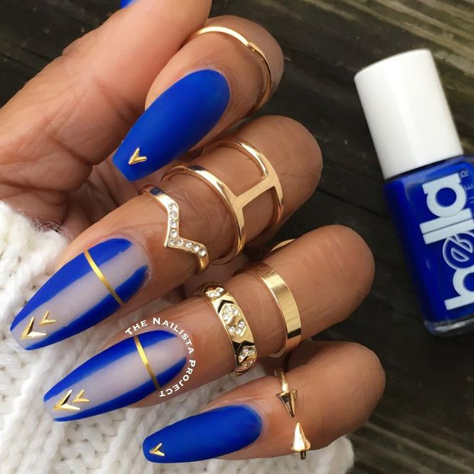There are so many pretty nail designs! Look through our ideas and pick a  design for your next visit to a beauty salon. - 42 Pretty Nail Designs You'll Want To Copy Immediately Fancy Nails