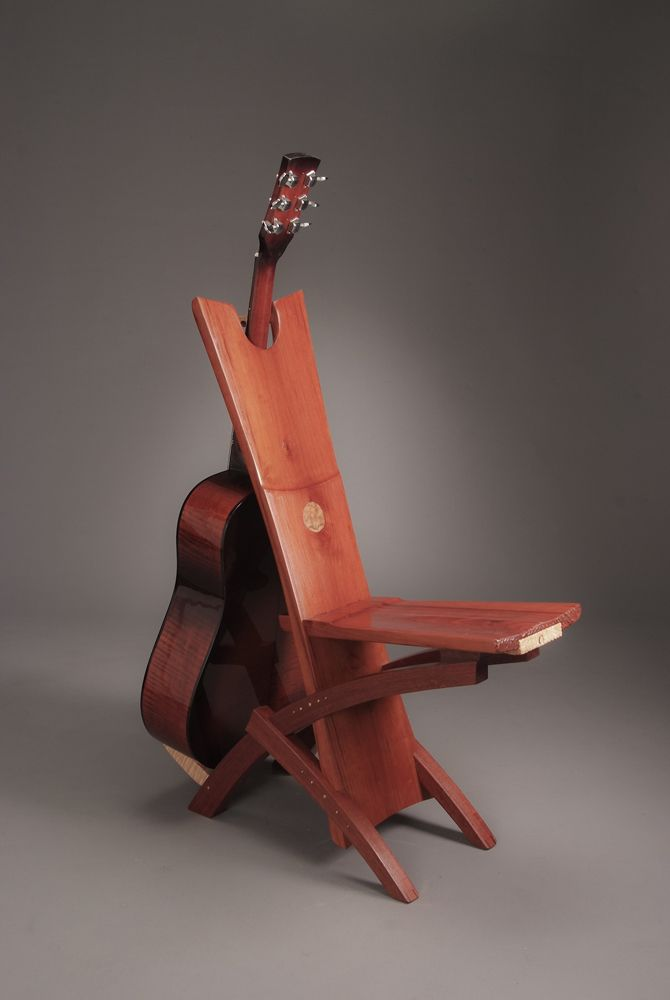 Musicianu0027s Chair By Mike Murphy Of Beaufort, SC. 2015 NICHE Awards  Finalist. Category: Furniture  Tables And Seating #chair, #wood