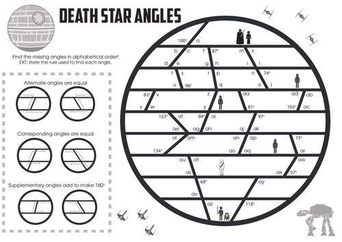 Death Star Angles - parallel lines | Additional Math Ideas ...