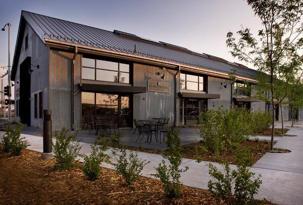 Reclaimed Metal Siding Pole Barn Homes Barn House Metal Homes