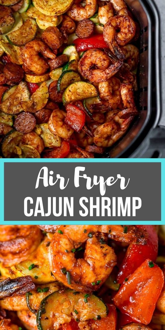 Photo of Air Fryer Cajun Shrimp Dinner