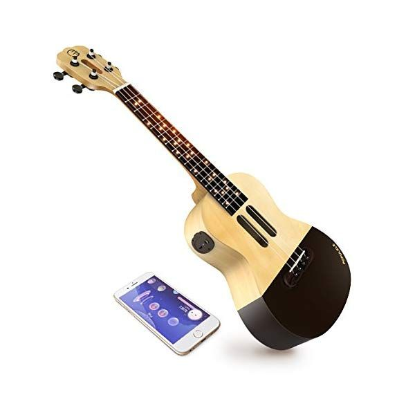 Popuband Populele Smart Ukulele LED Fretboard, Bluetooth
