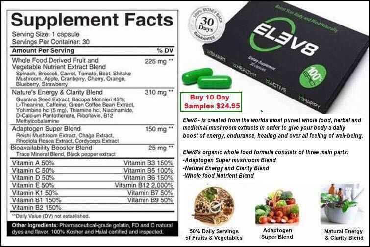 B Epic Elev8 Energy Capsules Ingredients Http Bepic Com