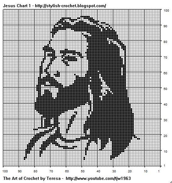 Free Filet Crochet Charts And Patterns Crochet Graphics Charts And