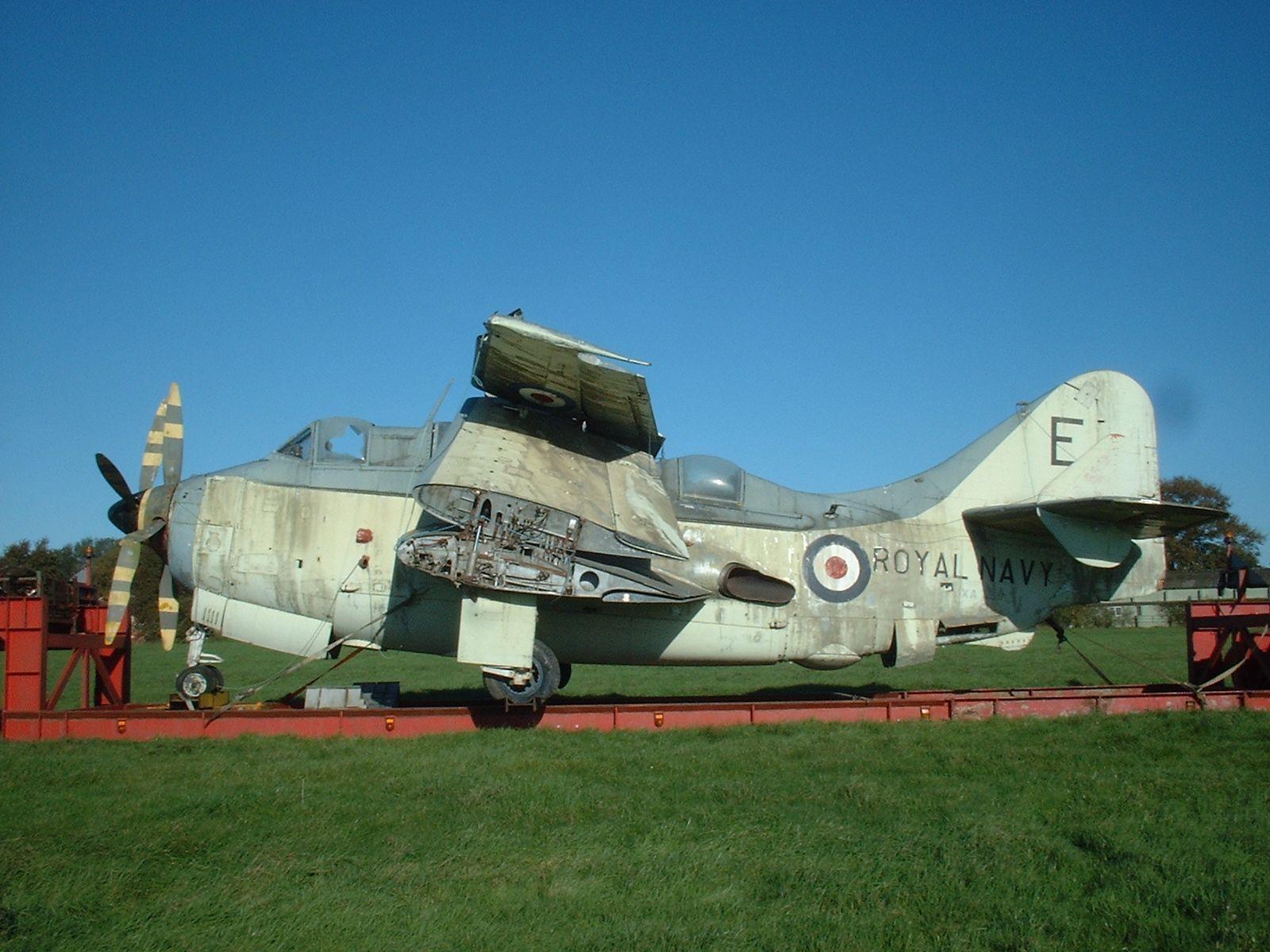 Fairey XA459. I vaguely remember these from RNAS