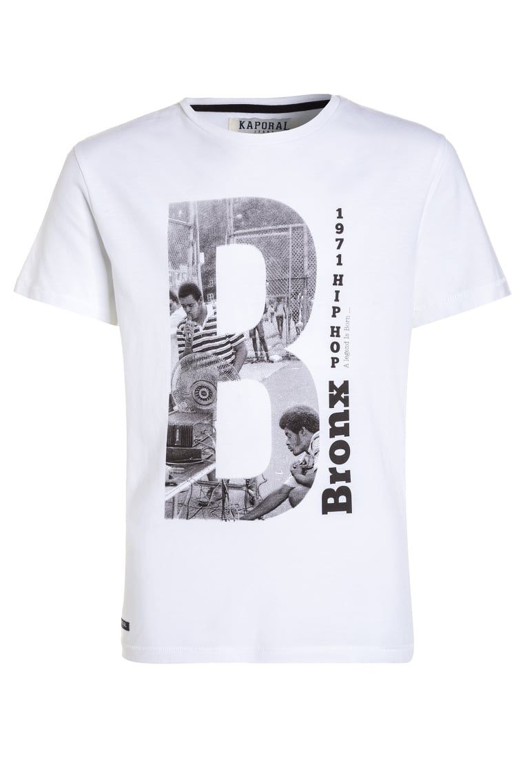 d8a93d9f1a6cd Kaporal NONX - Print T-shirt - optical white for with free delivery at  Zalando