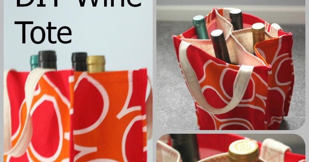 Pin on Wine Tote