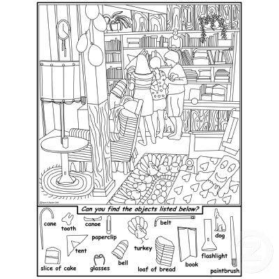 friends hidden objects puzzle cutout