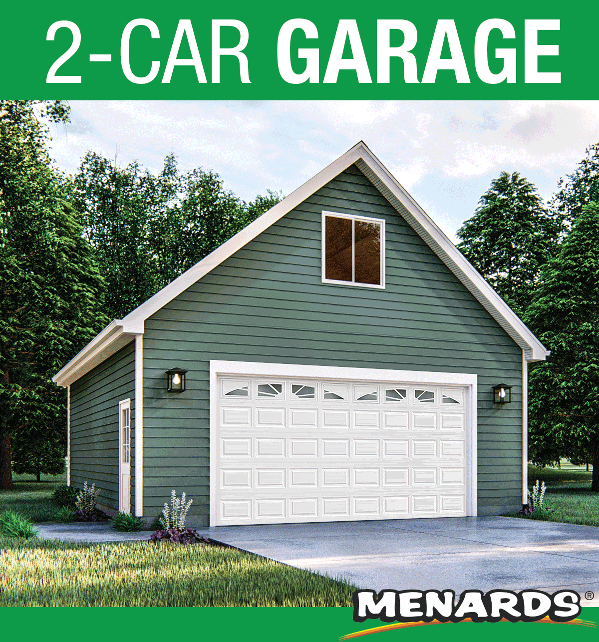 2 Car Room In Attic Garage 24 X 30 X 10 Material List In 2020 Cars Room Garage Room Garage