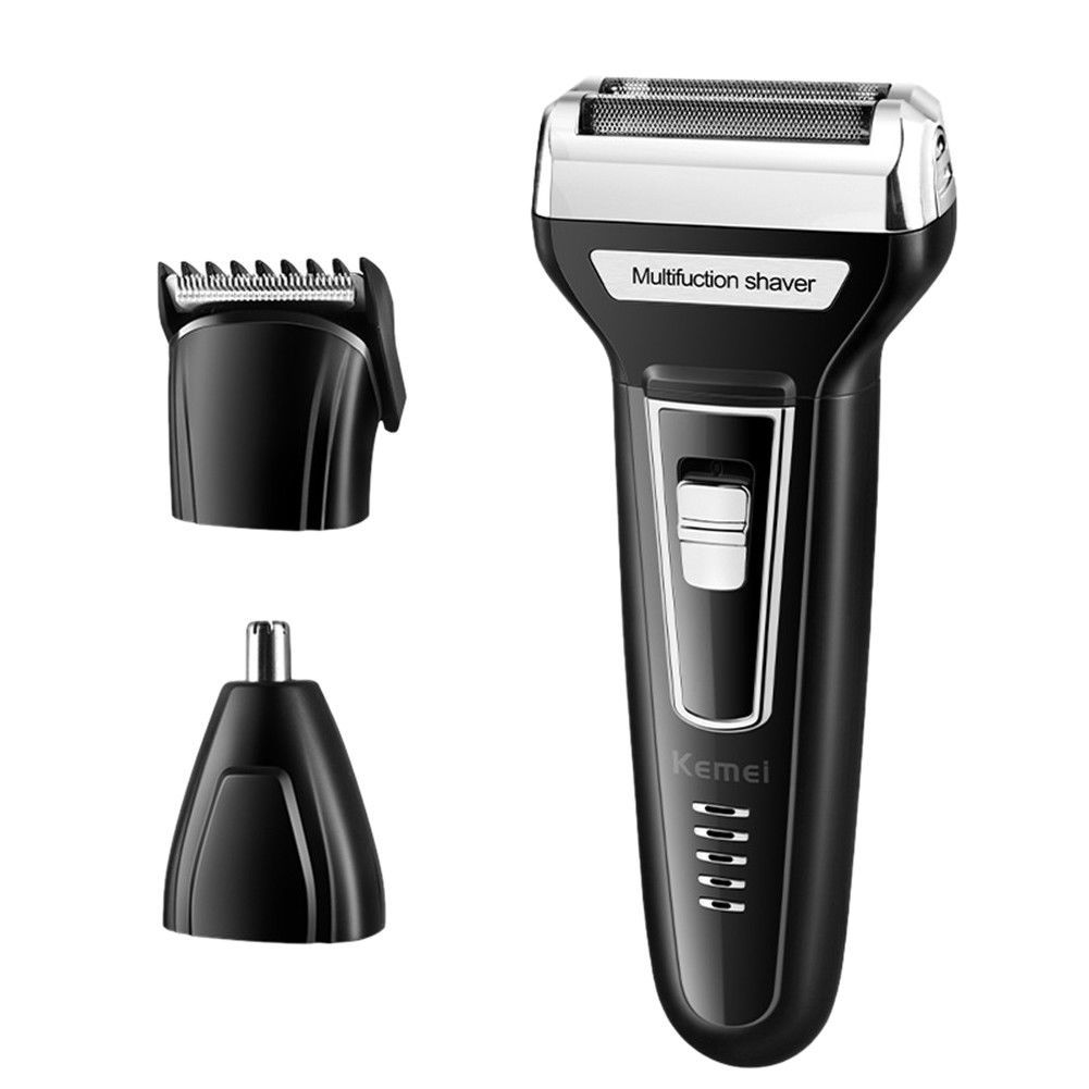 3 In 1 Men Rechargeable Cordless Electric Shaver Nose Trimmer Hair Clipper Hair Clippers Mens Hair Clippers Electric Trimmer
