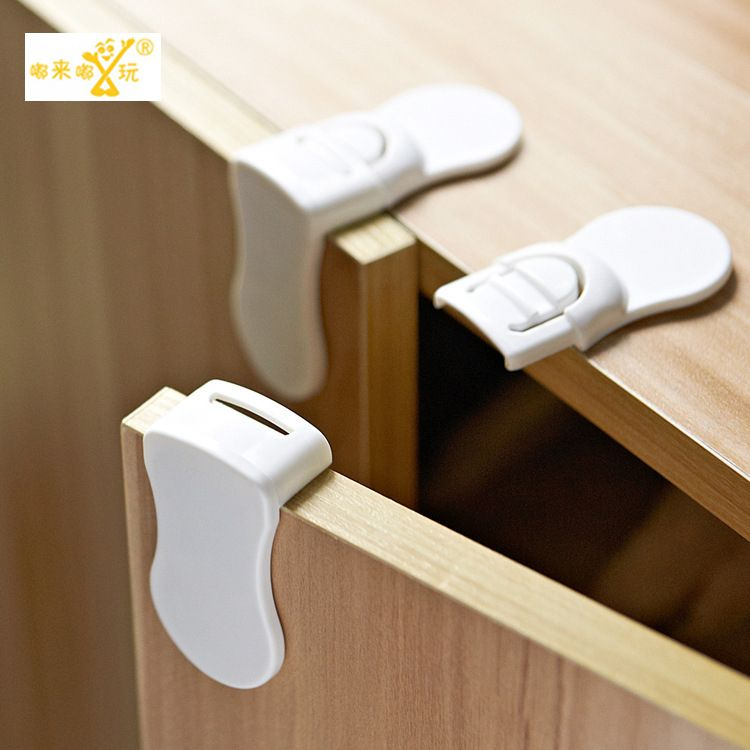 3 Pieces Lot Child Lock New Multi Functional Corner Child Safety Lock Drawer Rectangular Cabinet Locks B Baby Safety Locks Baby Safety Cabinets Baby Protection