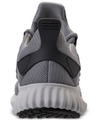 ed84b772c486 adidas Men s AlphaBounce City Running Sneakers from Finish Line - Gray 11.5