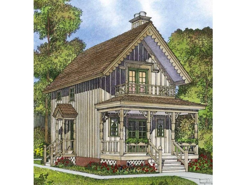 Country Style House Plan 2 Beds 1 Baths 944 Sq Ft Plan 1016 91 Country Style House Plans Small Cottage House Plans Cottage House Plans