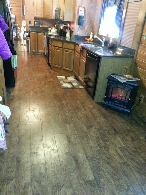This Amazing Karndean Wood Look Luxury Vinyl Floor Can Withstand The