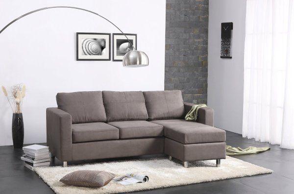 Imagenes De Salas Modernas Para Espacios Pequeños   Buscar Con Google |  Muebles De Sala | Small Sectional Sofa, Small Space Sectional Y Couches For  Small ...