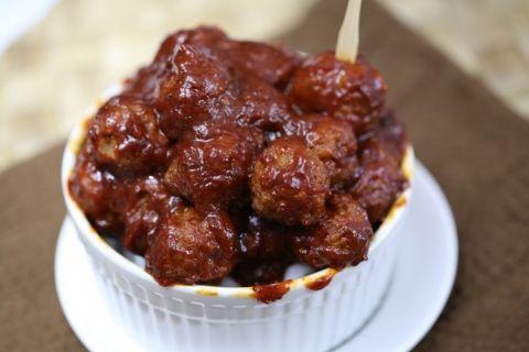 Crock Pot Honey Chipotle Meatballs