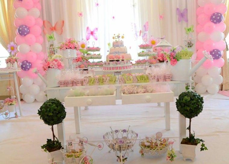 Globos y mariposas para la fiesta de cumplea os de la ni a - Fiestas de cumpleanos para ninas ...