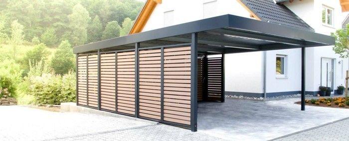 Carport selber bauen - mehr als 70 Ideen und Bauanleitungen ...