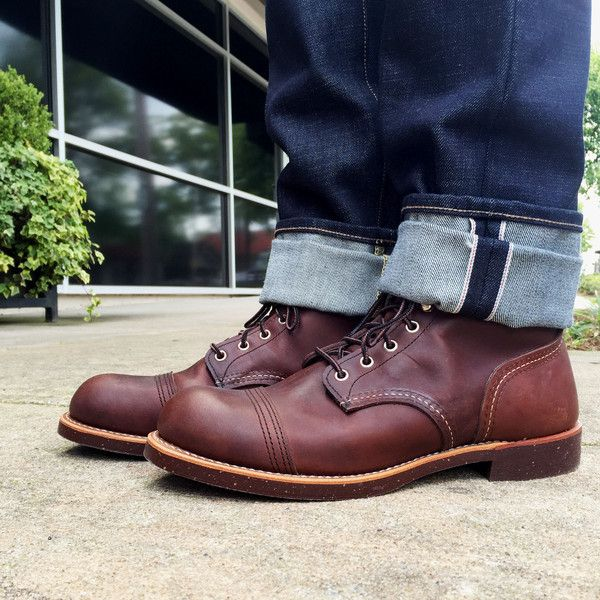 Red Wing Beckman. Not warm, but what a work boot. | Vintage ...