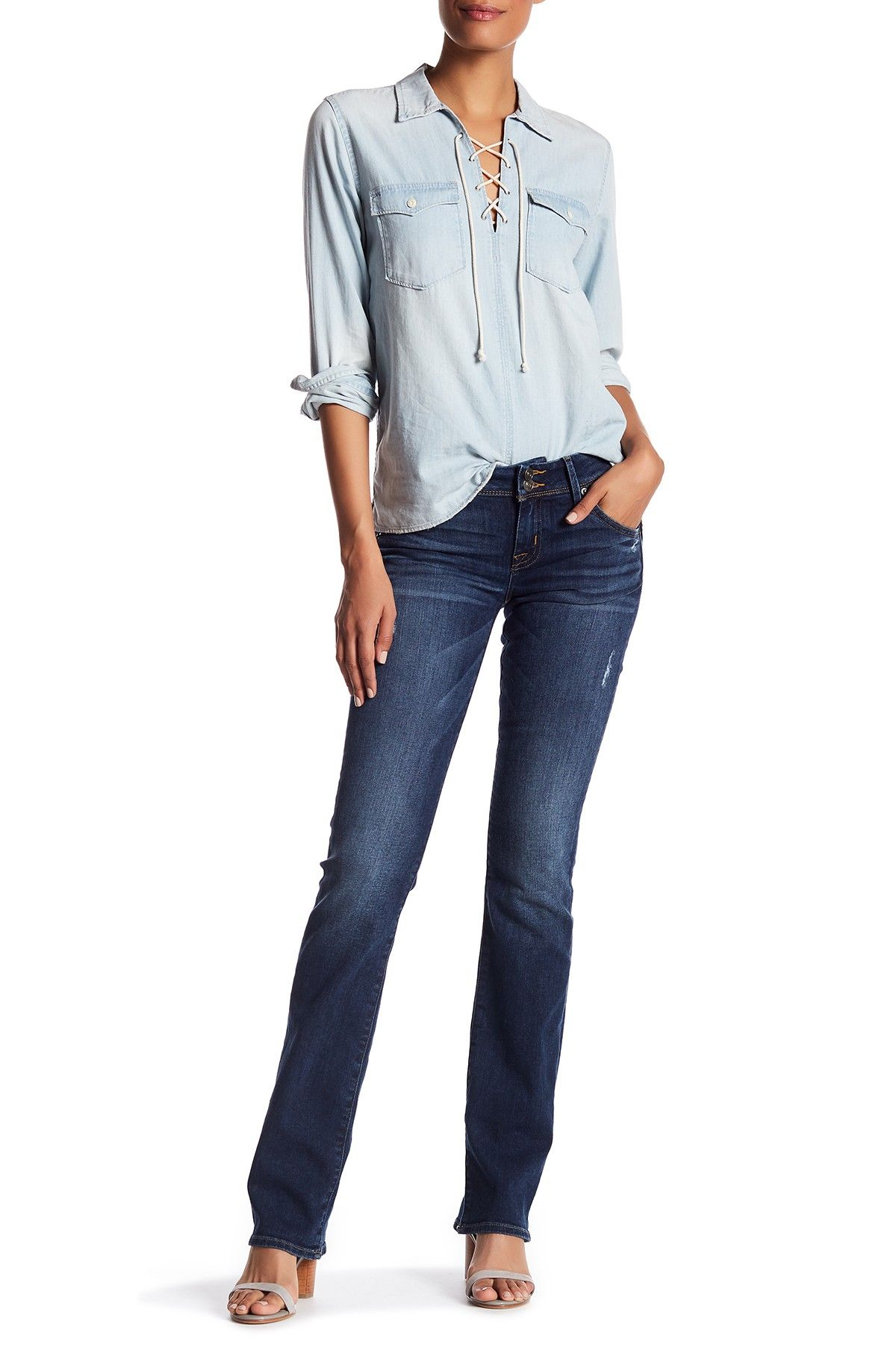 926c62342b99 HUDSON Jeans | Beth Baby Bootcut Jeans | Spring Summer | Hudson ...
