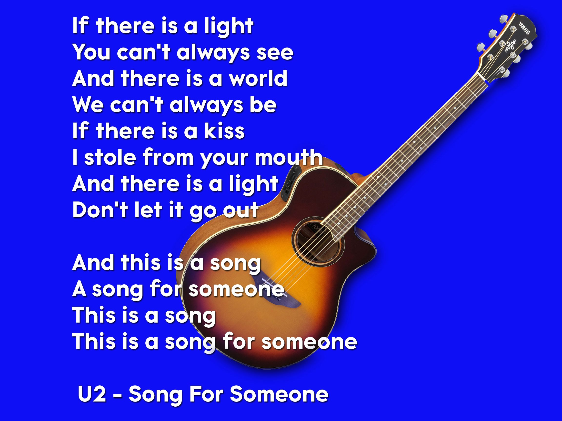 When I Play This Song It S Always Forever And Only For You Song For Someone U2 Songs Of Innocence Songs Of Innocence U2 Songs Songs