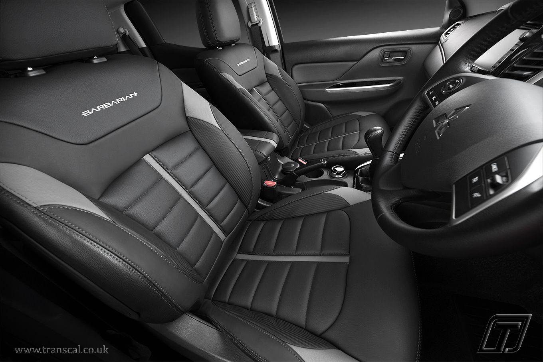 Mitsubishi L200 Barbarian leather interior Bespoke cars