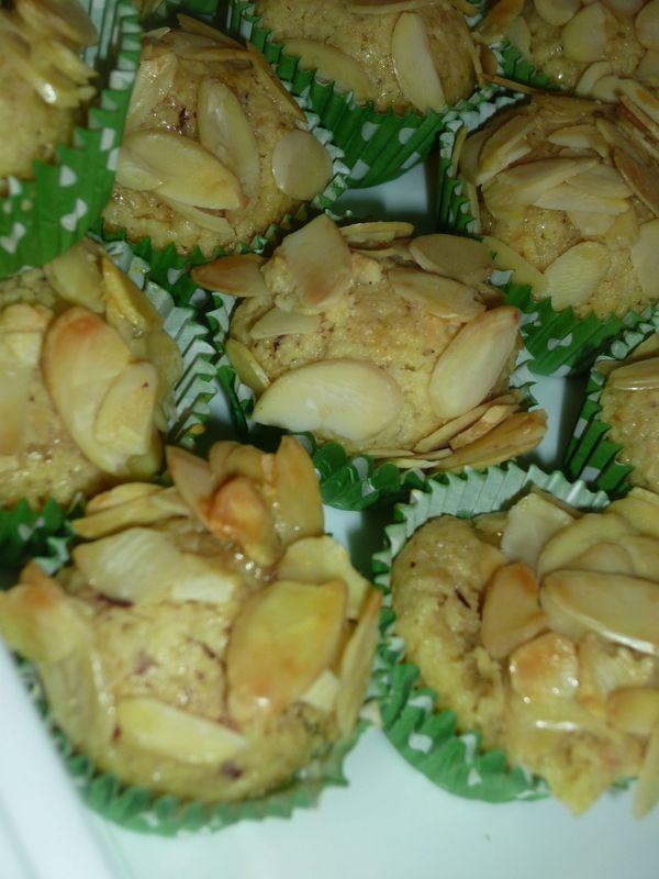 Mchewek gâteau aux amandes algérien
