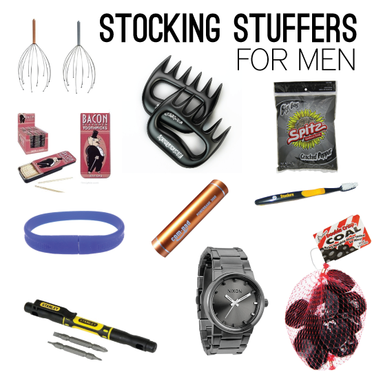 Merry & Bright Amazon Giveaway Stocking stuffers for men