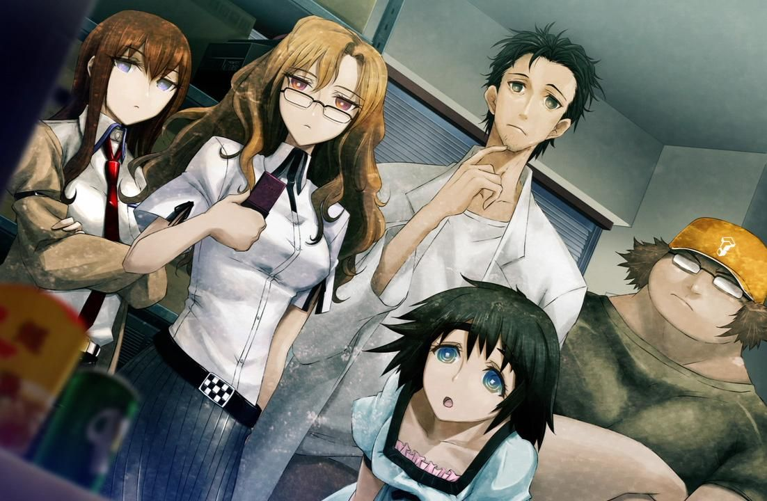 Pin by The Merc Knight Hk on Steins;Gate Anime, Visual