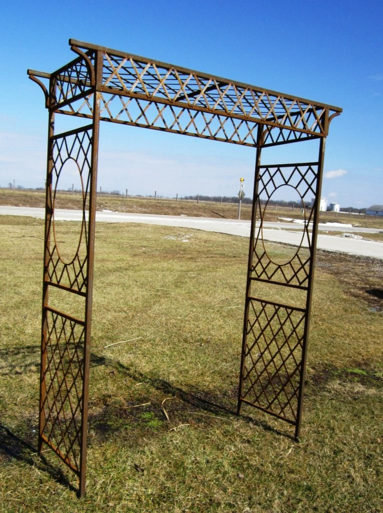 Exterior: Delightful Patio Pavers With Metal Trellis For Patio Design  Amazing Metal Trellis For Garden Ideas Metal Garden Trellis Designs Garden  Metal ...