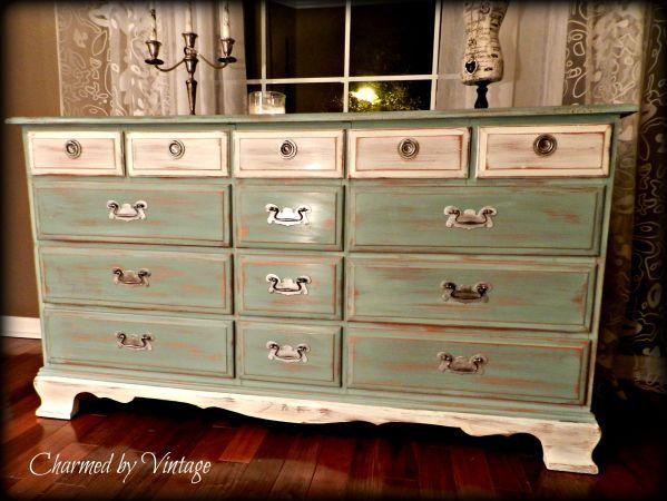 DIY distressed vintage dresser.   Diy furniture, Home ...