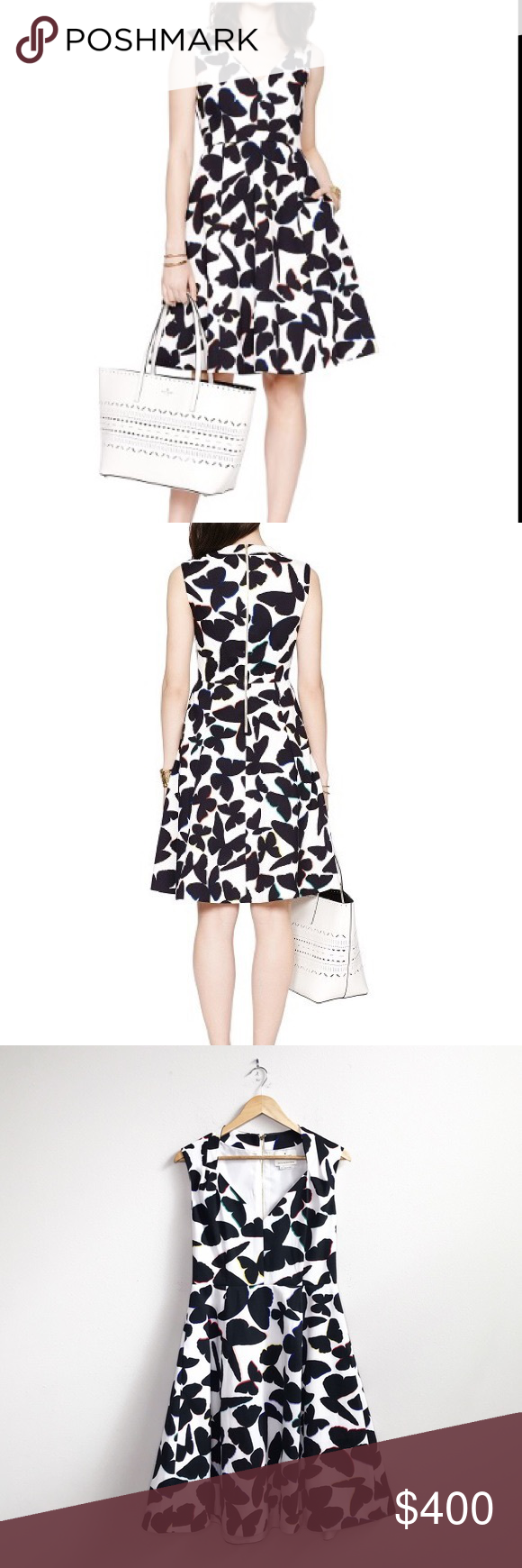 Kate Spade Fit And Flare Butterfly Dress Butterfly Dress Fit And Flare Kate Spade Dress [ 1740 x 580 Pixel ]